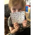 A very clever Dinosaur Sudoku