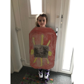 DF in 3F made a brilliant Roman Shield - well done