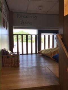 Indoor reading and quiet area