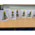 This Christmas we took our time to make some beautiful Christmas cards for our familiies.
