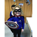 We had a blast learning about Superheroes!