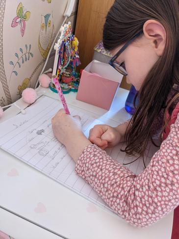 Honor writing a wonderful description