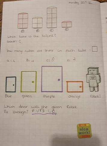 Bella's beautiful maths
