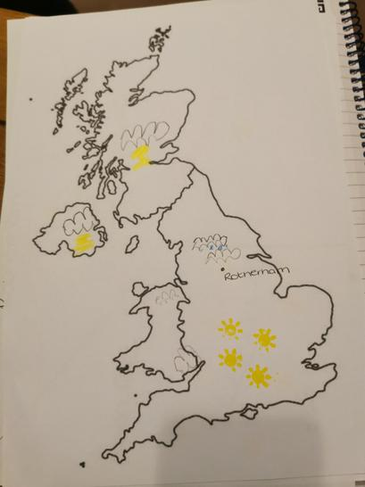 Thomas' map