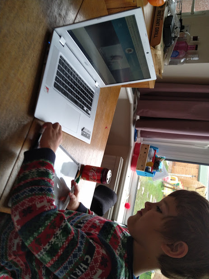 Learning on the laptop