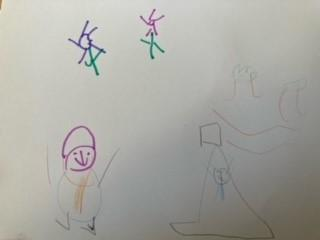 Imogen's story map continued
