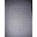 Ava's astronaut writing