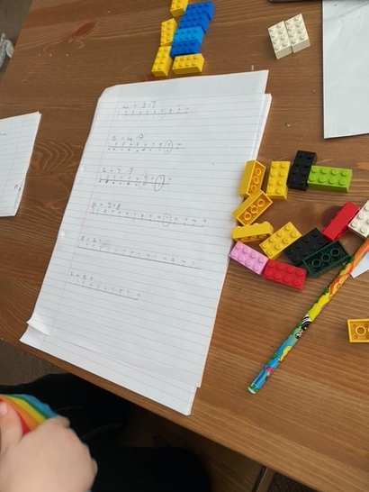 Some great maths from Freddie.
