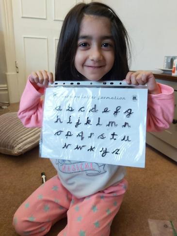 Beautiful handwriting Ameerah