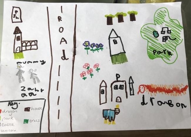 We love Zahraa's mega map