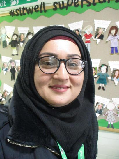 Shehla Ahmed - Lunchtime Leader