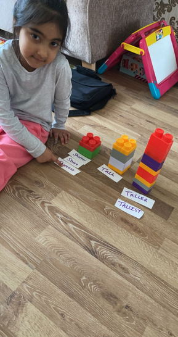Zoya's maths work.