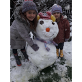 A's snowman