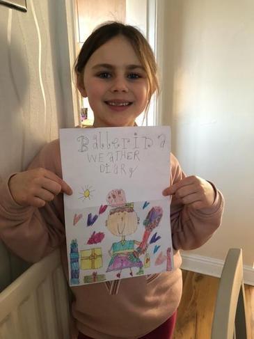 Eleanor's super weather diary