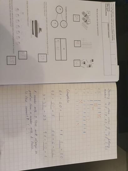 Excellent maths work Mike!