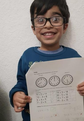 Ibrahim did his maths!
