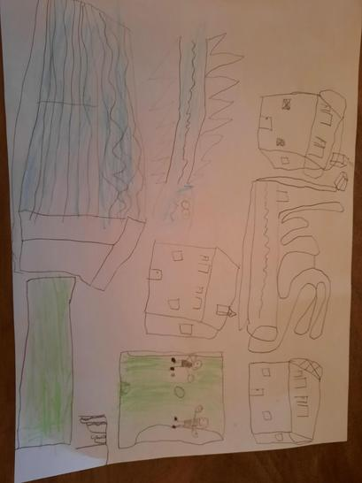 Finlay's design for a town.