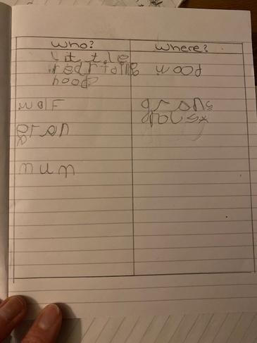 Freddie's literacy work.