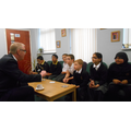 Year 6 children enjoyed talking with Ian Austin