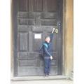 The door to Witley Church