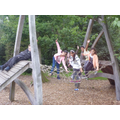 The adventure playground at Witley Court