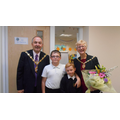 It was lovely to welcome the Mayor & Mayoress