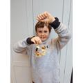 Luca's bird feeder