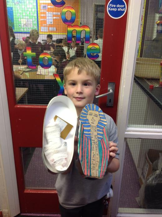 Here we are with our amazing sarcophagus creations
