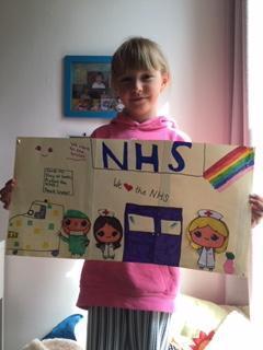 Rosie's NHS poster