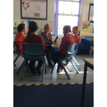 Health Ambassadors being interviewed