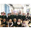 11.03.2016 - Certificate winners & the whole class