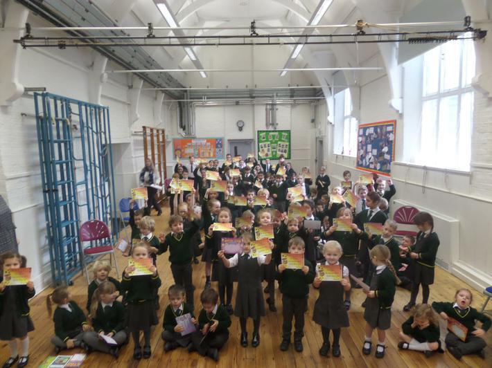 Gold Certificates 100% Attendance