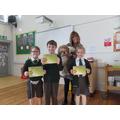 Bronze Certificates 98% Attendance