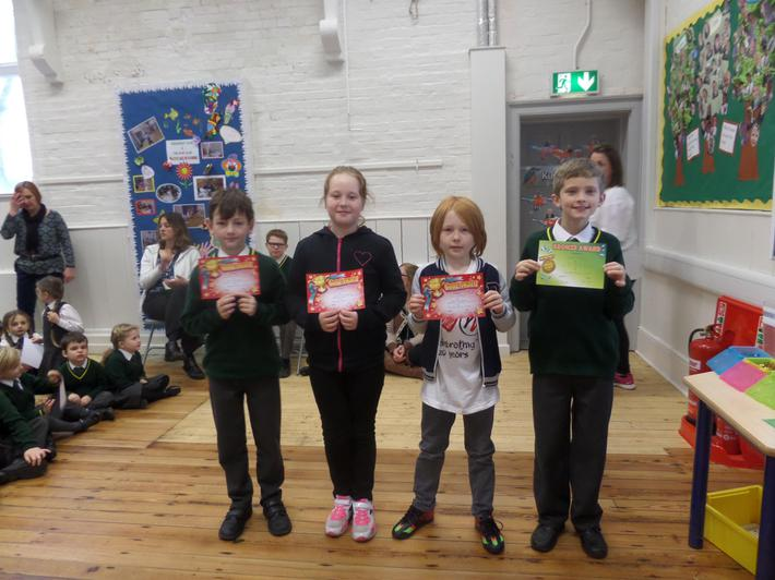 Yr 5 & 6 Bronze & Gold Certificates