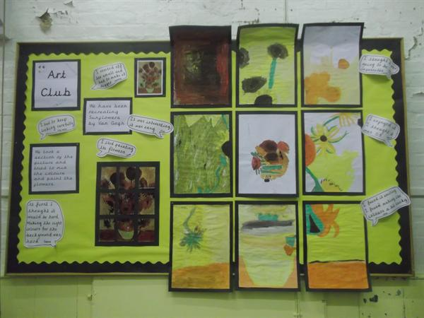Art Club Display