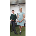 Our new Head Boy and Head Girl for 2017-2018