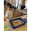 Stick and peg engineering challenges