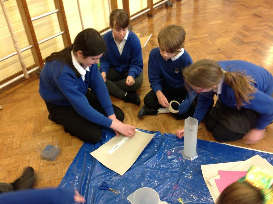 Using our 3D nets knowledge.