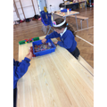 Pipe cleaner and bead snakes
