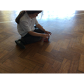 Magnetic squares and triangles, most popular toy currently at club