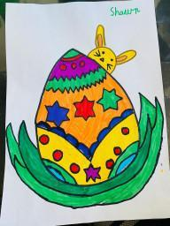 Shawn's Easter art