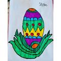 Steve's Easter drawing