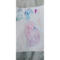 Samanta's Easter drawing