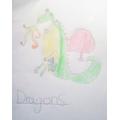 Chloe's dragon.