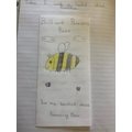 Penny's bee leaflet.