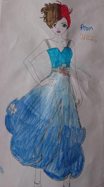 Reegan's Prom Dress Design