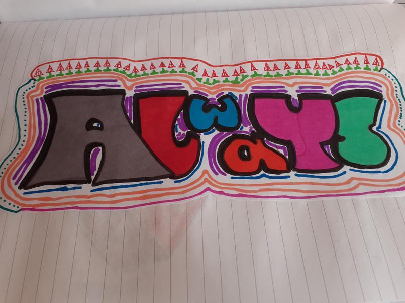 Chloe's Graffiti Art