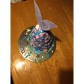 Keira's Birthday cake; HAPPY BIRTHDAY KEIRA.
