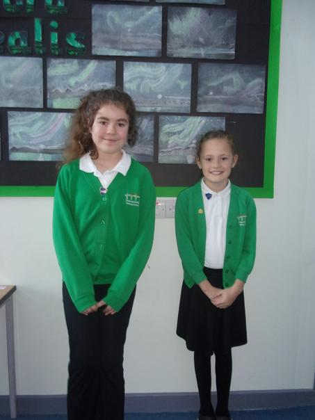 Victoria and Izzy - our Ambassadors for Lion House