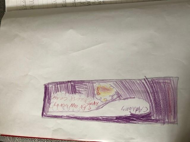 Katie's cadbury wrapper